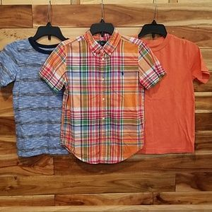 Other - Ralph Lauren button down and 2 t-shirts
